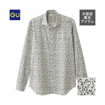 ブロードプリントシャツ(フラワー・長袖)CL.jpg